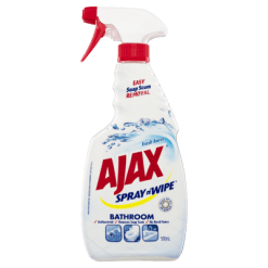 Ajax Spray N' Wipe Fresh Burst Bathroom Surface Cleaner - 500ml