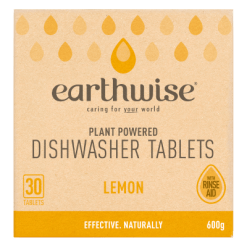 Earthwise Lemon Plant Powered Dishwasher Tablets - 30ea