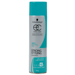 Schwarzkopf Extra Care Strong Styling Hairspray - 250g
