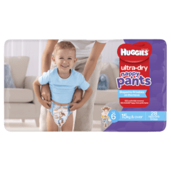 Huggies Ultra Dry Nappy Pants Boys 15kg & Over Junior - 28ea