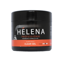 Helena Professional Super Hold Hair Gel Clear - 250g