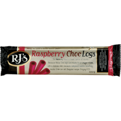 RJ's Licorice Raspberry Choc 3 Log Pack - 3pk
