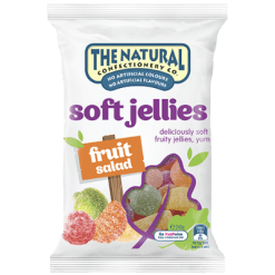 The Natural Confectionery Co. Fruit Salad Soft Jellies Sweets - 240g