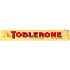 Toblerone Milk Chocolate Bar - 50g