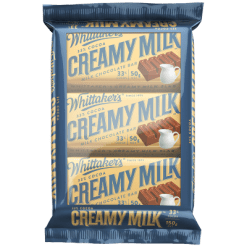 Whittaker's Creamy Milk Chocolate Bar - 3pk