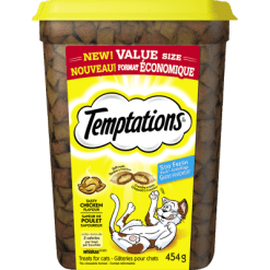 Whiskas Temptations Tasty Chicken Treats For Cats - 454g