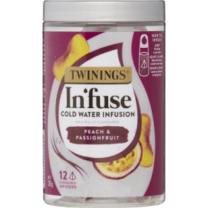 Twinings In'fuse Pink Peach & Passionfruit Cold Water Infusion