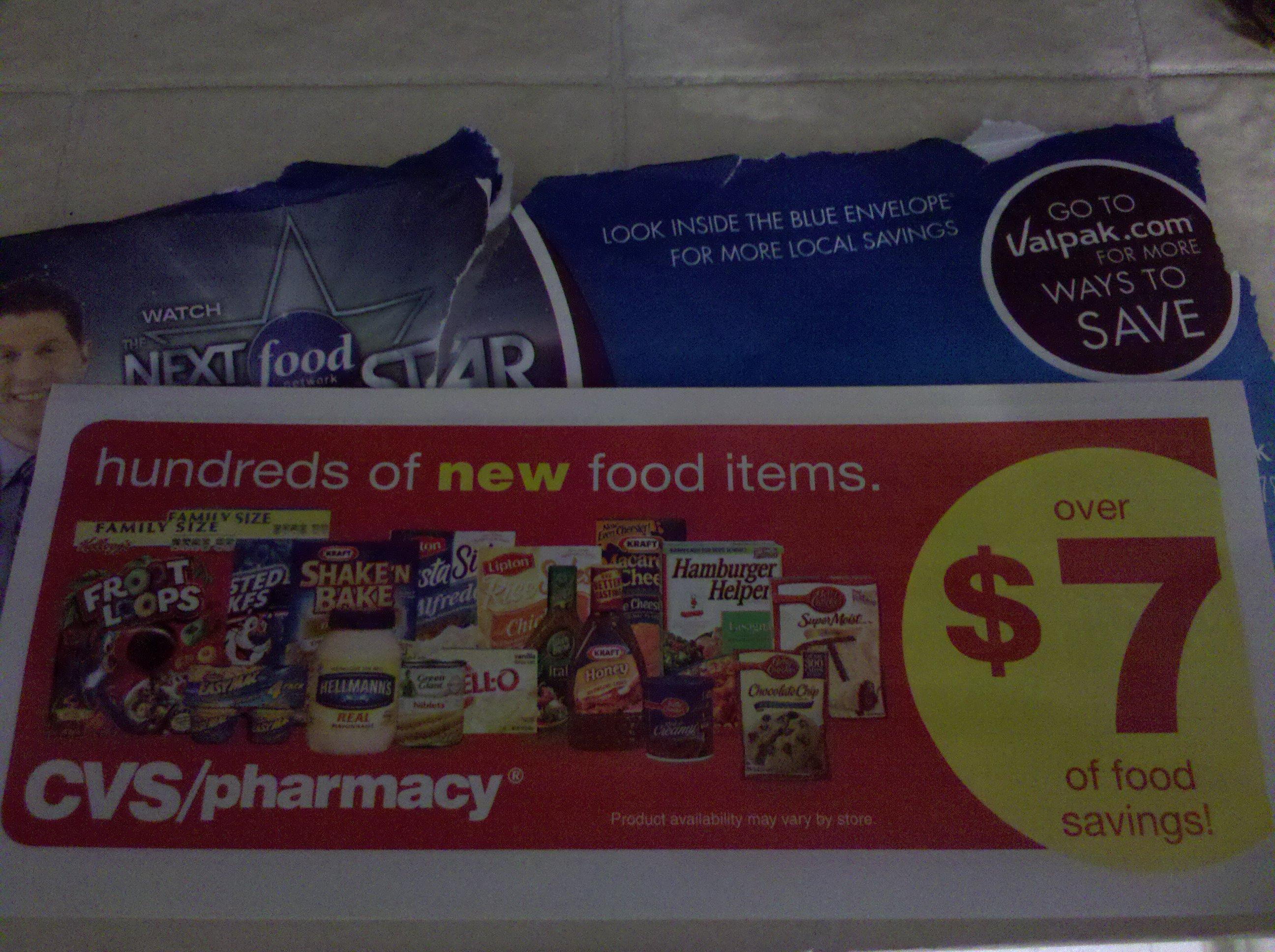 Valpak coupons