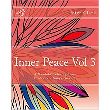 Inner Peace Volume 3 Adult Coloring Book