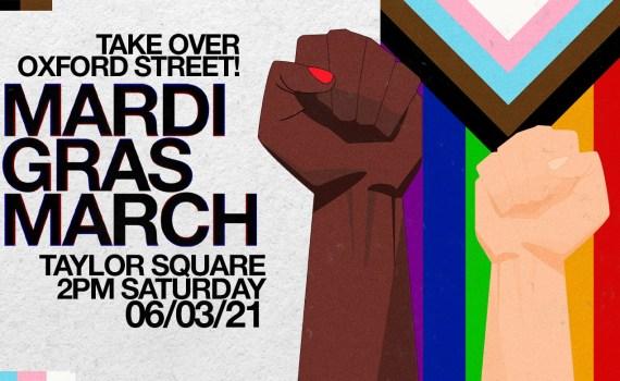 Mardi Gras March!