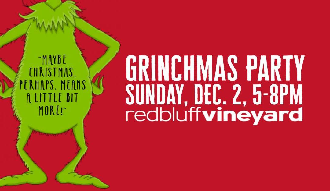 Grinchmas Party – Dec. 2, 5-8pm