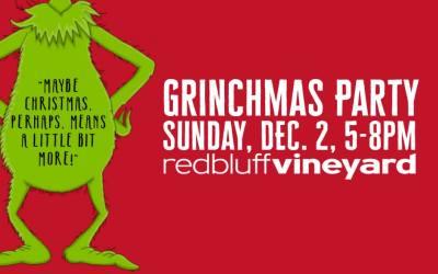 Grinchmas Party – Dec. 2, 5-8pm