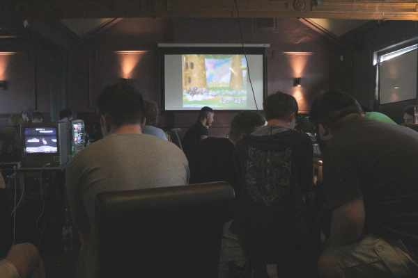 The Bristol Pear hosts a competitive Smash Bros Melee session