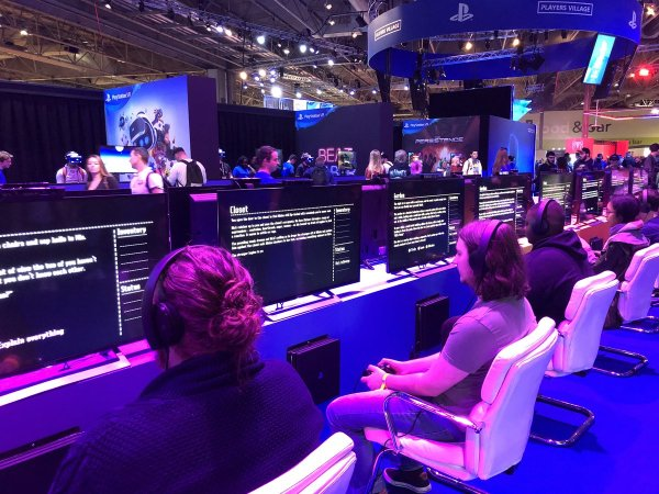 Given Time was a very popular Dreams game at EGX