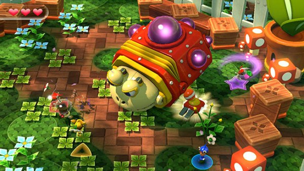 I never played Nintendo Land but this looks like Pikmin with Miis