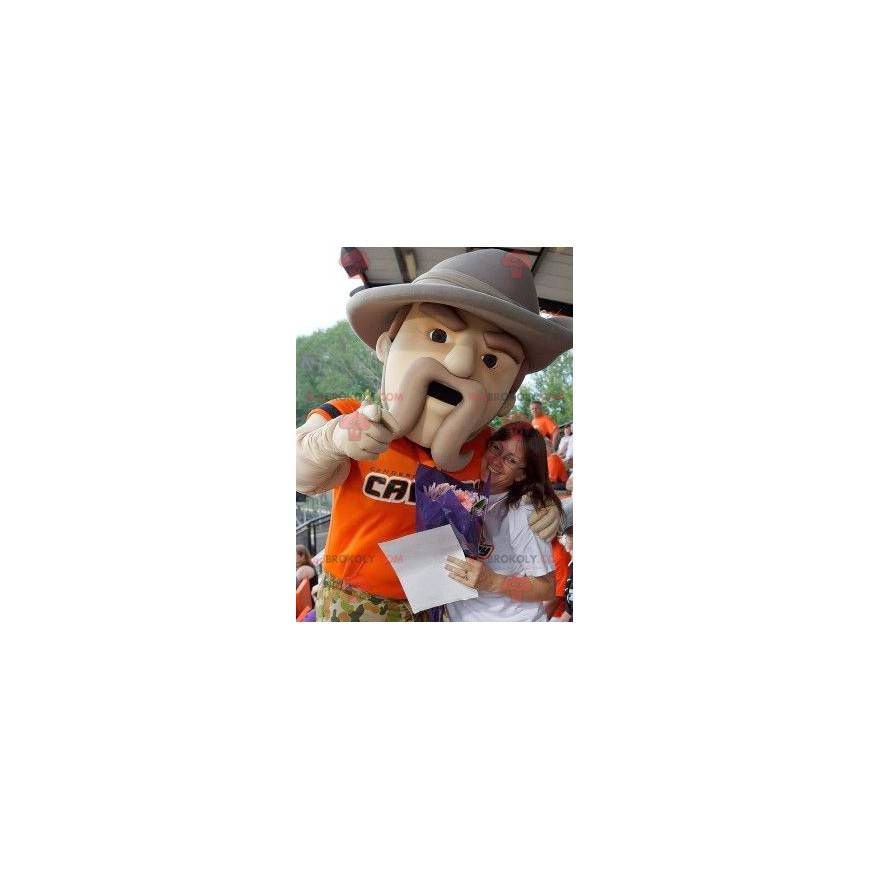 The division of forestry, as lead agency in a multiagency partnership, will arrange for a forester, wildlife biologist, other natural resources professional or all of the above to meet with you to help prepare a customized forest stewardship plan based on your goals and objectives for the property. Forest Ranger Mascot With A Big Hat Human Sizes L 175 180cm