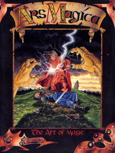 Ars Magica 3rd edition cover