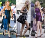 On The Gossip Girl Set With Blake Lively