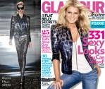 Jessica Simpson For Glamour US September 2009