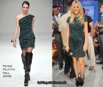 """Sienna Miller Changes 5 Times In One Day Promoting """"G.I. Joe: The Rise Of Cobra"""""""