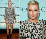 Tiffany & Co. and InStyle Honour Maria Sharapova