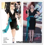 """Runway To """"My Fair Lady"""" Press Conference - Yoon Eun Hye In Louis Vuitton & Moon Chae Won In Versace"""