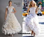 Runway To Photo Shoot - Kate Hudson In Marchesa, Versace & Emilio Pucci