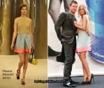 "Runway To ""Synergy"" Ad Campaign Unveiling - Lara Bingle In Prada"