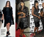"Runway To ""Thurgood Marshall College Fund Fashion Show"" - Naomi Campbell In Dennis Basso"