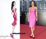 Emporio Armani Dress Inspired By Megan Fox