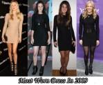 Most Worn Dress Of 2009 - Kimberly Ovitz Jacob Long Sleeve Dress