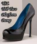 Shoe Of The Year 2009 - YSL Trib Two Platform Pumps