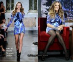 """Sarah Jessica Parker Promoting  """"Did You Hear About The Morgans?"""" Wearing Emilio Pucci & Chanel"""