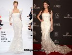 Runway To 12th Annual Costume Designers Guild Awards - Anna Kendrick In Elie Saab Couture