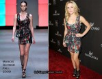 Runway To 12th Annual Costume Designers Guild Awards - Anna Paquin In Marios Schwab