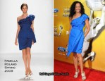 Runway To 41st NAACP Image Awards - Garcelle Beauvais In Pamella Roland
