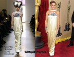 Runway To 2010 Oscars - Sarah Jessica Parker In Chanel Couture