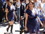 Dannii Minogue Shows Off Her Baby Bump Wearing Willow