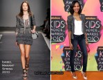 2010 Nickelodeon Kids' Choice Awards - Zoe Saldana In Isabel Marant