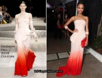 Runway To Fox Searchlight Pictures Oscar Party - Zoe Saldana In Givenchy Couture