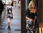 """On The """"Something Borrowed"""" Set With Kate Hudson In Dolce & Gabbana"""