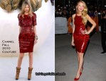 """2010 Toronto Film Festival """"The Town"""" Premiere - Blake Lively In Chanel Couture & Preen"""
