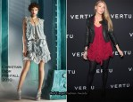 Vertu Smartphone Launch Party - Blake Lively In Christian Dior