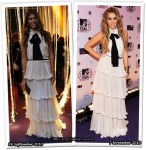 Who Wore D&G Better? Bianca Brandolini D'Adda or Miley Cyrus