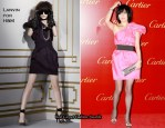 Carina Lau In Lanvin For H&M - Cartier Flagship Store Opening