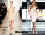 Jennifer Lopez In Hervé Léger by Max Azria - National Spokesperson For The Boys & Girls Club Of America Announcement
