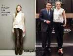 Diane Kruger In 3.1 Phillip Lim - Jaeger-LeCoultre Reverso Lady Ultra Thin Launch