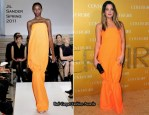 Drew Barrymore In Jil Sander - Covergirl Cosmetic's 50th Anniversary Party