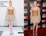 Elle Fanning In Valentino Couture - 2011 Critics' Choice Awards