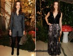 Rebecca Hall In Mulberry – Mulberry Fall 2011 Presentation and After-Party